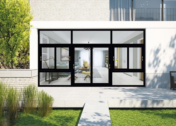 门窗轮廓的选择也取决于打开模式